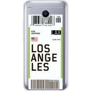Силиконовый чехол BoxFace Meizu M5s Ticket Los Angeles (35041-cc85)