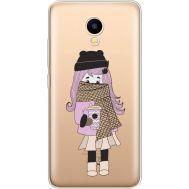 Силиконовый чехол BoxFace Meizu M5C Winter Morning Girl (35051-cc61)