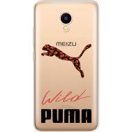 Силиконовый чехол BoxFace Meizu M5C Wild Cat (35051-cc66)