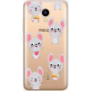 Силиконовый чехол BoxFace Meizu M5C с 3D-глазками Mouse (35051-cc76)