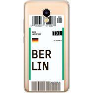 Силиконовый чехол BoxFace Meizu M5C Ticket Berrlin (35051-cc80)