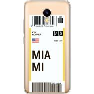 Силиконовый чехол BoxFace Meizu M5C Ticket Miami (35051-cc81)