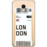 Силиконовый чехол BoxFace Meizu M5C Ticket London (35051-cc83)