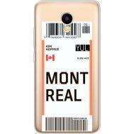 Силиконовый чехол BoxFace Meizu M5C Ticket Monreal (35051-cc87)