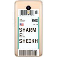 Силиконовый чехол BoxFace Meizu M5C Ticket Sharmel Sheikh (35051-cc90)