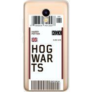 Силиконовый чехол BoxFace Meizu M5C Ticket Hogwarts (35051-cc91)