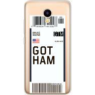 Силиконовый чехол BoxFace Meizu M5C Ticket Gotham (35051-cc92)