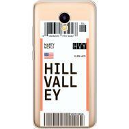 Силиконовый чехол BoxFace Meizu M5C Ticket Hill Valley (35051-cc94)