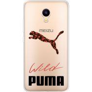 Силиконовый чехол BoxFace Meizu M3 Wild Cat (35365-cc66)