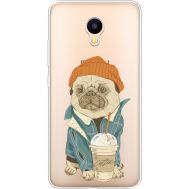Силиконовый чехол BoxFace Meizu M3 Dog Coffeeman (35365-cc70)