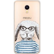 Силиконовый чехол BoxFace Meizu M3 MR. Rabbit (35365-cc71)