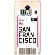 Силиконовый чехол BoxFace Meizu M3 Ticket San Francisco (35365-cc79)