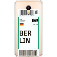 Силиконовый чехол BoxFace Meizu M3 Ticket Berrlin (35365-cc80)