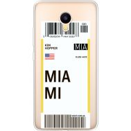 Силиконовый чехол BoxFace Meizu M3 Ticket Miami (35365-cc81)