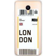 Силиконовый чехол BoxFace Meizu M3 Ticket London (35365-cc83)