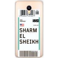 Силиконовый чехол BoxFace Meizu M3 Ticket Sharmel Sheikh (35365-cc90)