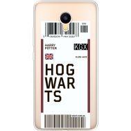 Силиконовый чехол BoxFace Meizu M3 Ticket Hogwarts (35365-cc91)