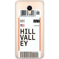 Силиконовый чехол BoxFace Meizu M3 Ticket Hill Valley (35365-cc94)