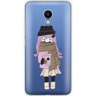 Силиконовый чехол BoxFace Meizu M5 Winter Morning Girl (35998-cc61)