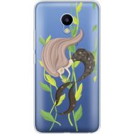Силиконовый чехол BoxFace Meizu M5 Cute Mermaid (35998-cc62)