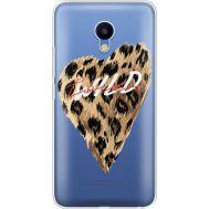 Силиконовый чехол BoxFace Meizu M5 Wild Love (35998-cc64)