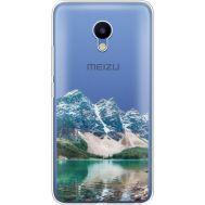 Силиконовый чехол BoxFace Meizu M5 Blue Mountain (35998-cc68)