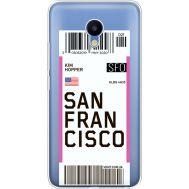 Силиконовый чехол BoxFace Meizu M5 Ticket San Francisco (35998-cc79)