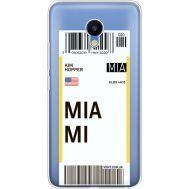 Силиконовый чехол BoxFace Meizu M5 Ticket Miami (35998-cc81)