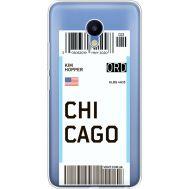 Силиконовый чехол BoxFace Meizu M5 Ticket Chicago (35998-cc82)
