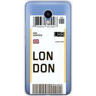 Силиконовый чехол BoxFace Meizu M5 Ticket London (35998-cc83)