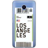 Силиконовый чехол BoxFace Meizu M5 Ticket Los Angeles (35998-cc85)