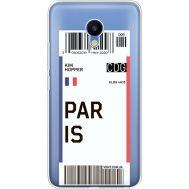 Силиконовый чехол BoxFace Meizu M5 Ticket Paris (35998-cc86)