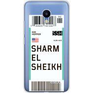 Силиконовый чехол BoxFace Meizu M5 Ticket Sharmel Sheikh (35998-cc90)