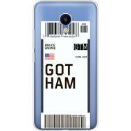 Силиконовый чехол BoxFace Meizu M5 Ticket Gotham (35998-cc92)