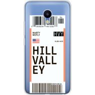 Силиконовый чехол BoxFace Meizu M5 Ticket Hill Valley (35998-cc94)