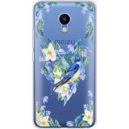 Силиконовый чехол BoxFace Meizu M5 Spring Bird (35998-cc96)