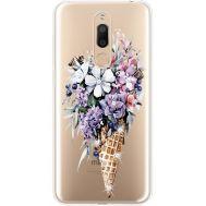 Силиконовый чехол BoxFace Meizu M6T Ice Cream Flowers (935012-rs17)
