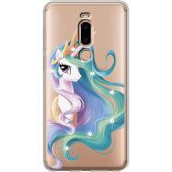 Силиконовый чехол BoxFace Meizu M8 Unicorn Queen (935866-rs3)