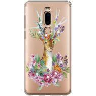 Силиконовый чехол BoxFace Meizu M8 Deer with flowers (935866-rs5)