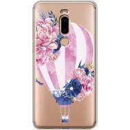Силиконовый чехол BoxFace Meizu M8 Pink Air Baloon (935866-rs6)