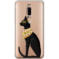Силиконовый чехол BoxFace Meizu M8 Egipet Cat (935866-rs8)