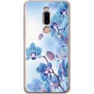 Силиконовый чехол BoxFace Meizu M8 Orchids (935866-rs16)