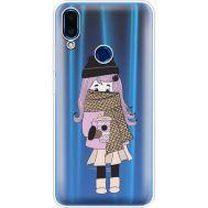 Силиконовый чехол BoxFace Meizu Note 9 Winter Morning Girl (36864-cc61)
