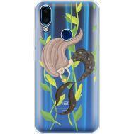 Силиконовый чехол BoxFace Meizu Note 9 Cute Mermaid (36864-cc62)