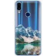 Силиконовый чехол BoxFace Meizu Note 9 Blue Mountain (36864-cc68)