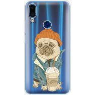 Силиконовый чехол BoxFace Meizu Note 9 Dog Coffeeman (36864-cc70)