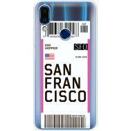 Силиконовый чехол BoxFace Meizu Note 9 Ticket San Francisco (36864-cc79)