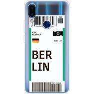 Силиконовый чехол BoxFace Meizu Note 9 Ticket Berrlin (36864-cc80)