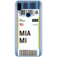 Силиконовый чехол BoxFace Meizu Note 9 Ticket Miami (36864-cc81)