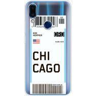 Силиконовый чехол BoxFace Meizu Note 9 Ticket Chicago (36864-cc82)
